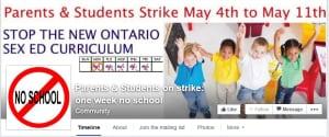Parents & Students on strike: one week no school