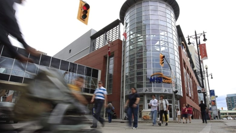 No re-entry' policy coming to MTS Centre in September | CBC News