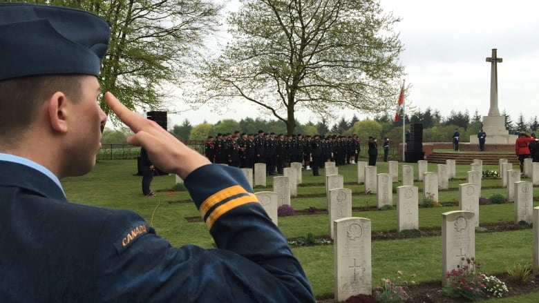 Volunteers upload the stories of Canadians who died liberating the Netherlands in WW II