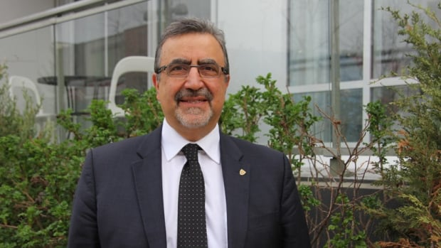 Feridun Hamdullahpur, the president of the University of Waterloo.  The school is one of thirty institutions in the world chosen by the United Nations to participate in its gender equality campaign, HeForShe.