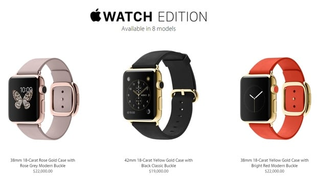 Apple Watch Prices
