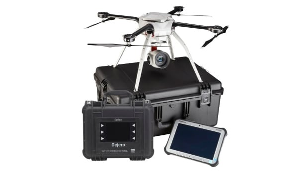 Dejero Labs and Aeryon Labs have teamed up to make it possible to broadcast HD video from a drone that can travel as far as 10 kilometres away from the operator.