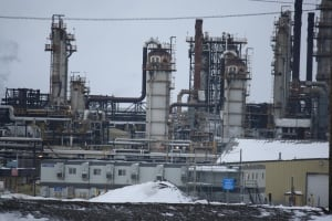 Syncrude oilsands site near Fort McMurray