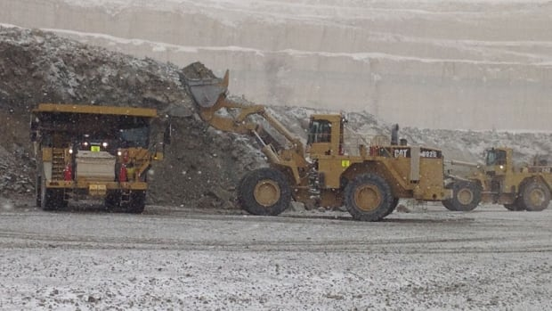 Mining in action at the Victor diamond mine north of Attawapiskat, Ont. There are questions being raised about Ontario's low mining royalties.