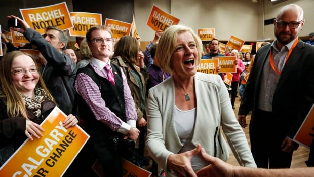 Alberta NDP Leader Rachel Notley convinced Albertans to take a chance on the unknown after 44 years of conservative rule - giving the opposition in Ottawa hope of a similar mood in the fall.