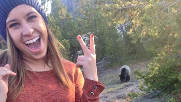 The U.S. Forest Service had to issue a warning last October that it might close part of the South Lake Tahoe park in California after several people posted 'bear selfies' on Twitter and Instagram. The caption on this photo read, 'Just hangin' with a grizzly.'