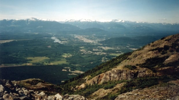 A view of Terrace, B.C. from Mt. Thornhill. Residents have once again noticed strange sounds.