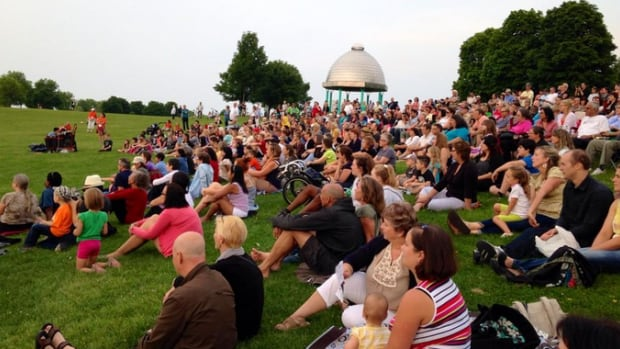 Dusk Dances came to Hamilton's Bayfront Park for the first time in 2014. City staff recommend granting $10,000 to the HCA Dance Theatre, to present the Dusk Dances festival again this year.