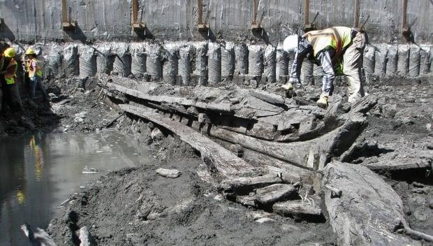 Queen's Wharf schooner