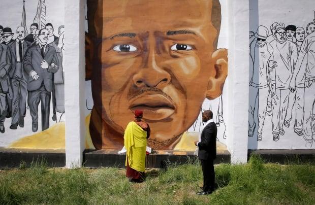 Freddie Gray mural