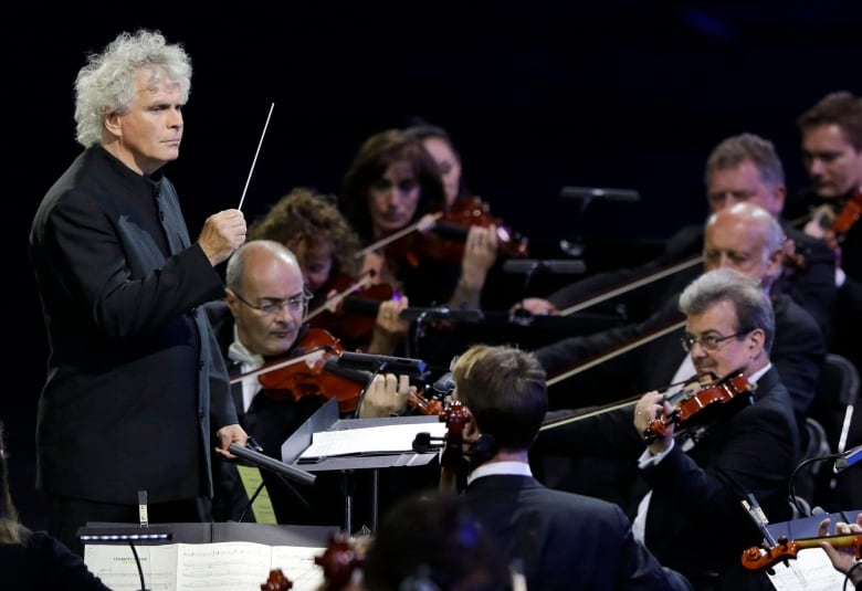 Legendary conductor Sir Simon Rattle on the future of classical