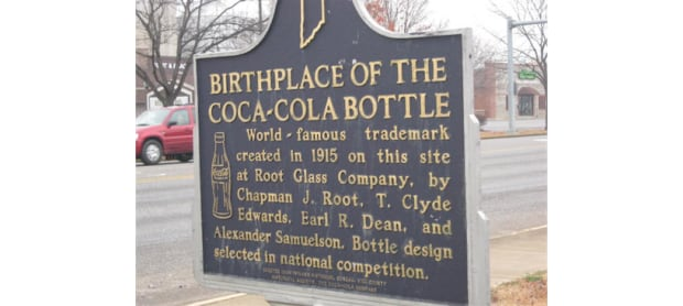 Birthplace of the Coke Bottle