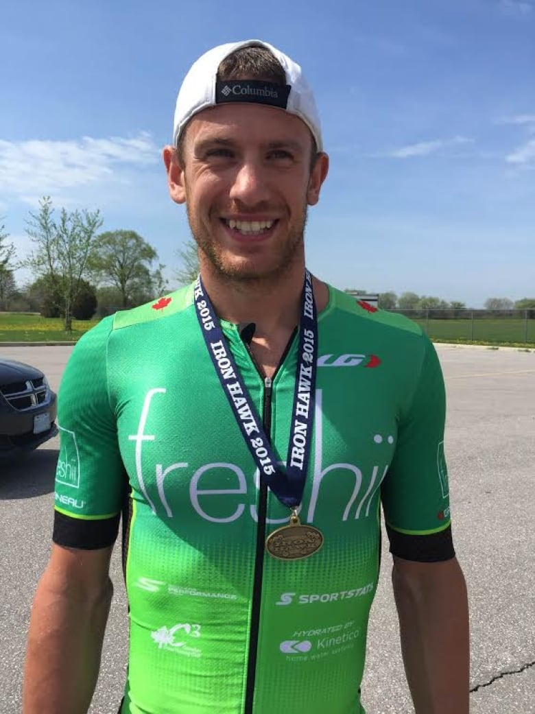 Ontario's Lionel Sanders overcomes addiction, sets new Ironman world record