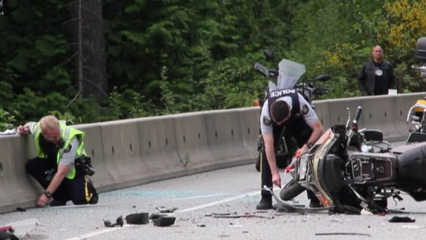 My Car North Bay >> Motorcycle couple air-lifted after collision on Sea-to-Sky highway | CBC News