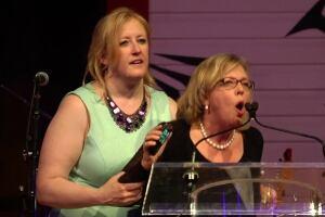 Lisa Raitt Elizabeth May speech press gallery dinner May 9 2015