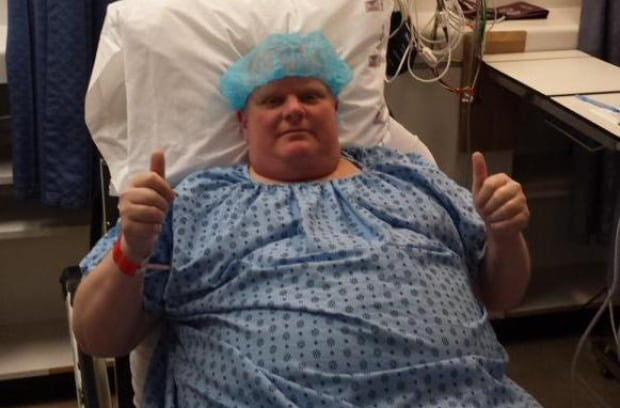 Toronto Rob Ford cancer surgery