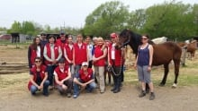 May Do Crew at A Horse Tale