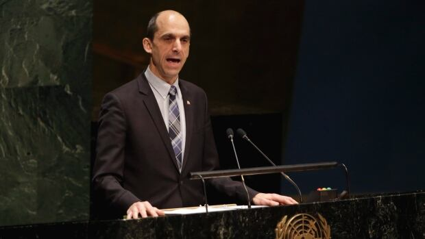 Public Safety Minister Steven Blaney told the UN General Assembly in January, during its first meeting devoted to anti-Semitism, that Canada would take a 'zero tolerance' approach to groups that promote boycotts against Israel.