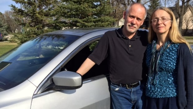 Josephine and Bob Mots bought a 'new' Honda Accord at Winnipeg Honda in 2008 and discovered this year that the vehicle had been in an accident before they bought it.