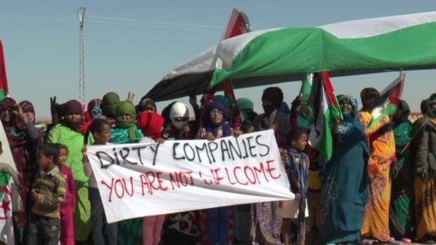 Western Sahara potash protest