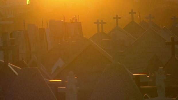 Migrant graveyard