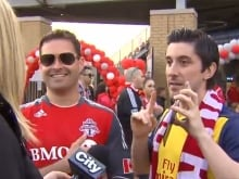 CityNews reporter Shauna Hunt confronts Shawn Simoes, who defended yelling a popular vulgar phrase during an on-air interview at the Toronto FC home opener. Shawn Simoes was fired by his employer for his bad behaviour. Justified or a bad precedent?
