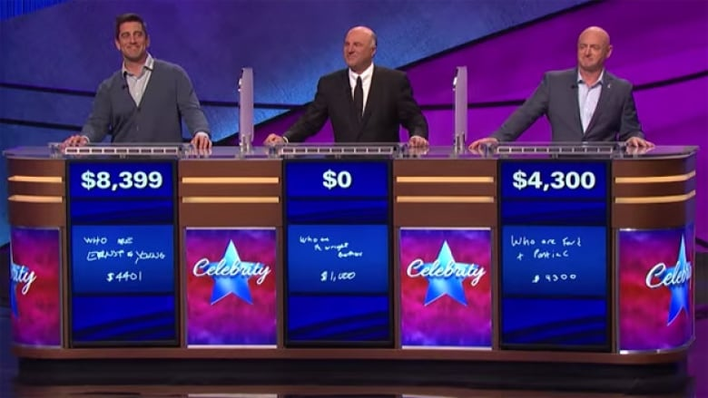 Aaron Rodgers beats Kevin O'Leary on Celebrity Jeopardy