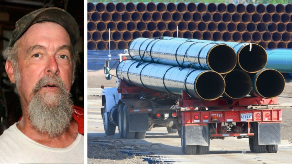 Hughie Tweedy is against the Bakken Pipeline