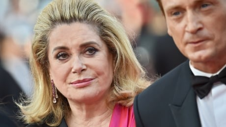 Catherine Deneuve Cannes Standing Tall DV2026578 May 13 2015