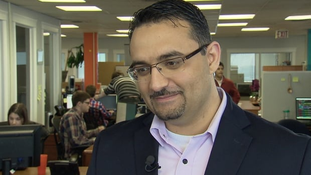 Saeed El-Darahali, the president and CEO of SimplyCast, says he's received more than 100 resumes from across the country.