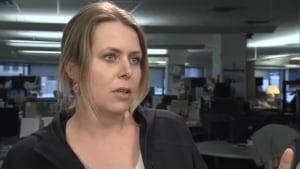 CBC videographer Sara Calnek