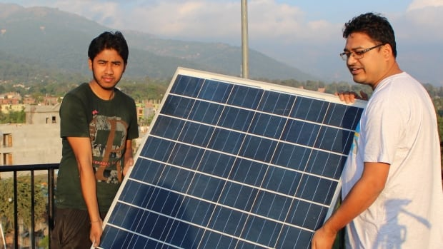Canadian company SunFarmer builds solar panel installations at schools and hospitals around the world, and offers consumers zero-interest loans. By 2030, about 700 million people living in Africa won't have access to electricity.