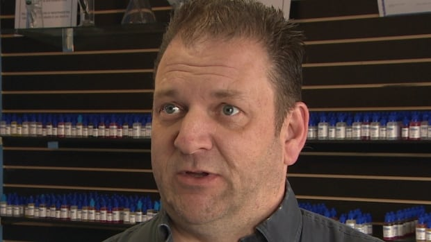 Bill Shea owns four Vapour XS stores in the province, and plans on opening a fifth.