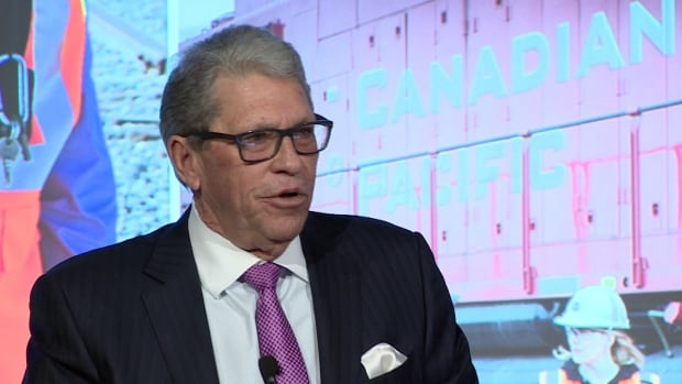 CP Rail CEO Hunter Harrison says fossil fuels are 'probably dead' and it's time to adapt to it.