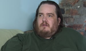 Michael Fleet says he can't get gastric bypass surgery because of wait list