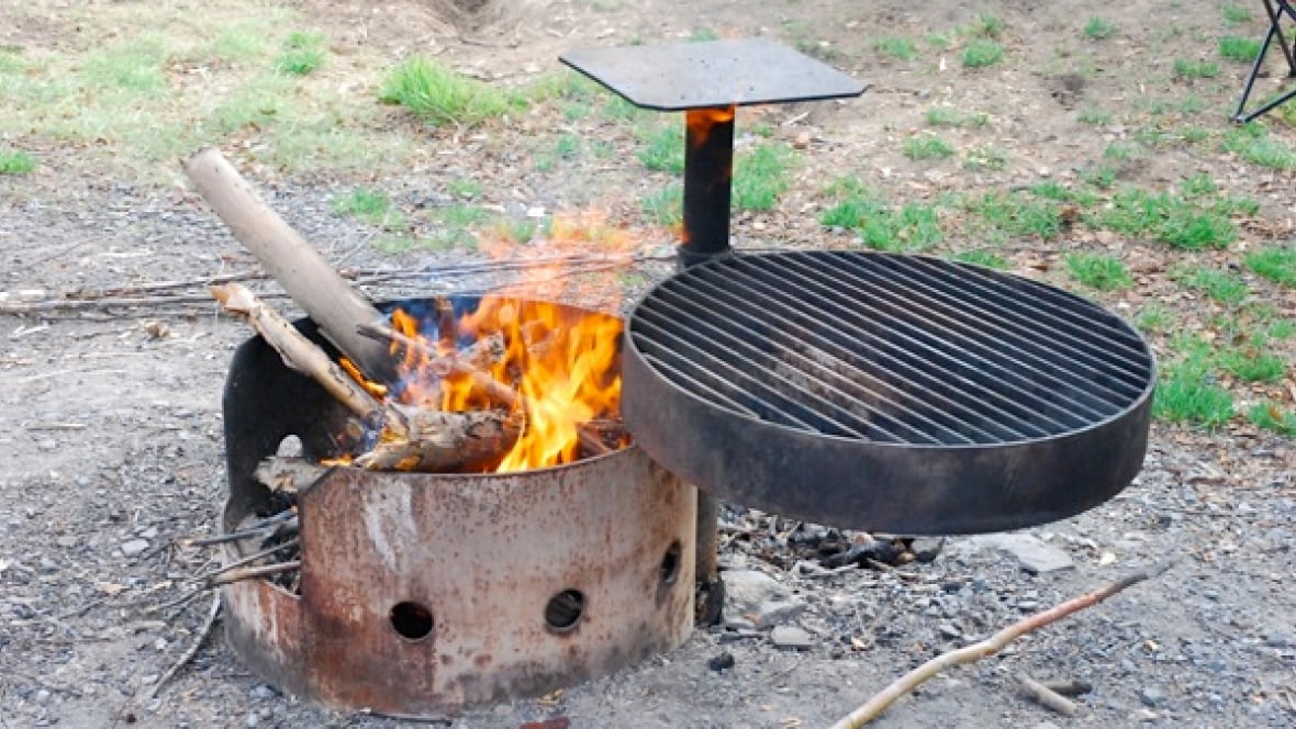 is a fire pit considered open burning
