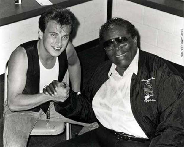B.B. King and Colin James, 1995