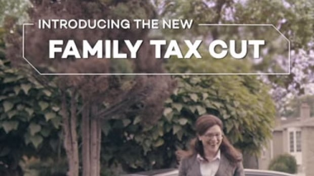 When focus groups viewed an early version of this federal government tax benefits ad, they heard messages similar to ones touted by the Conservative Party.