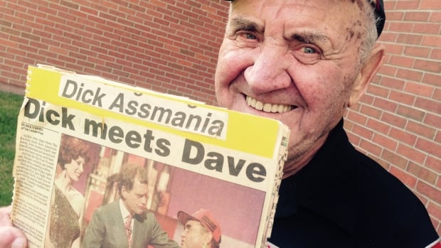 Dick Assman, who had a turn in the spotlight as a source of comedy for late night talk show host David Letterman, died this week.