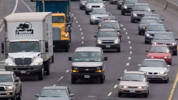 Fuel-efficiency gains are eroded if more vehicles get caught in traffic. If Canada aims to cut carbon emissions from road transport, driving habits will have to change, according to a Conference Board report.