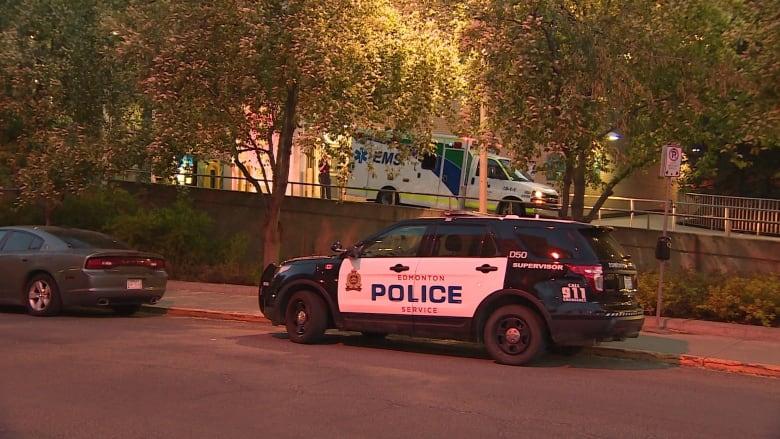 Man armed with sawed-off shotgun shot dead by Edmonton