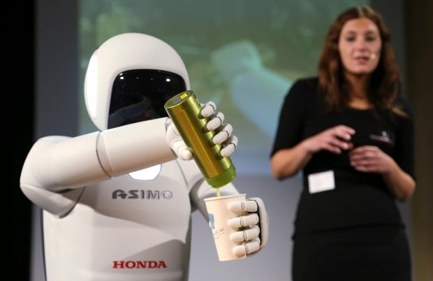 Asimo Honda bot BELGIUM July 16 2014