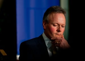 stephen poloz thinking pensive