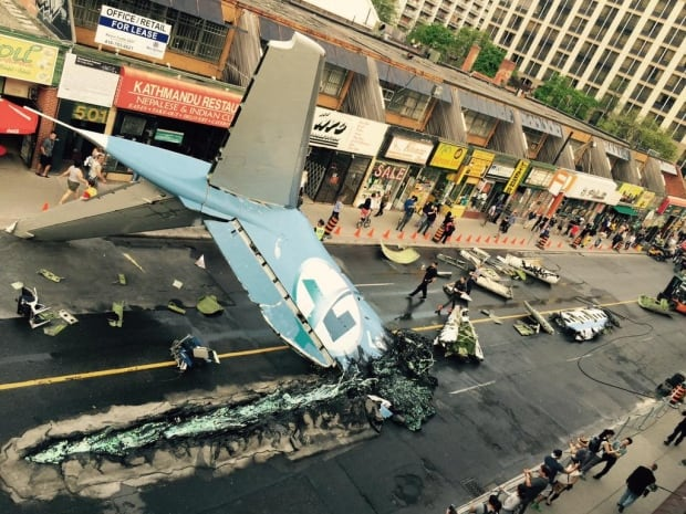 suicide squad toronto plane
