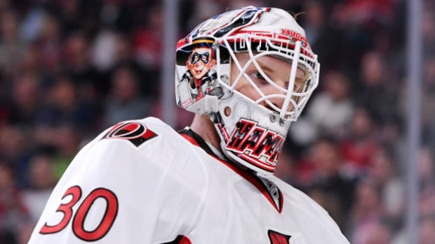 Andrew Hammond has signed a three-year deal with the Ottawa Senators after a spectacular run this season that pushed the Senators into the playoffs.