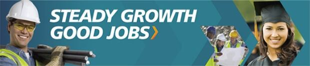 steady growth good jobs ad campaign