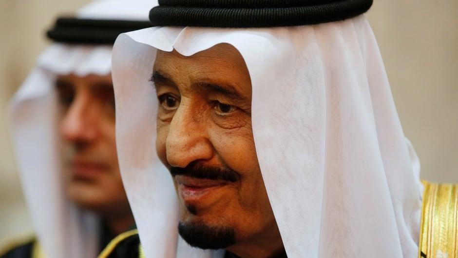 Saudi Arabia's King Salman in Riyadh, January 27, 2015.