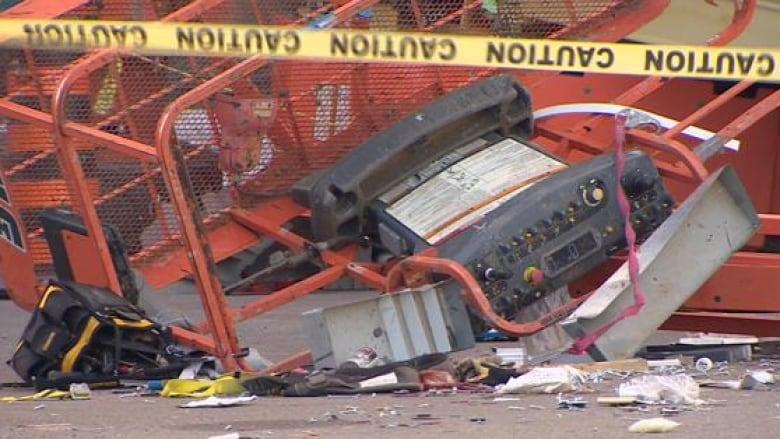 Markham industrial accident incident