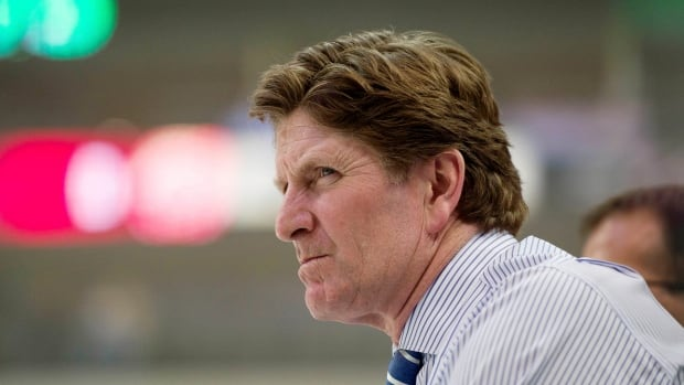 Why is this man scowling? It's not the money. New Toronto Maple Leafs coach Mike Babcock's annual salary puts him in elite company.
