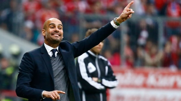 Pep Guardiola has coached European powers Bayern Munich and Barcelona.